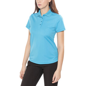 Maier Sports Ulrike Polo Shirt Women Hawaiian Ocean